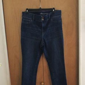 NY & Co SoHo High Waist Leggings 16 Blue